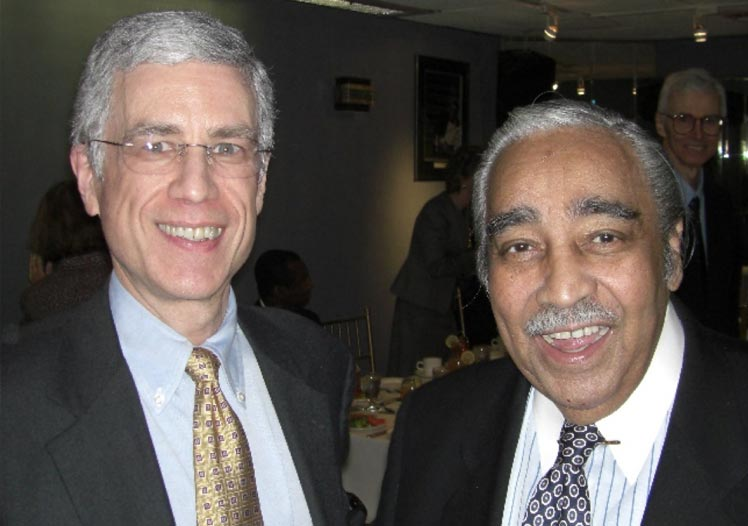 Keith with Congressman Charlie Rangel