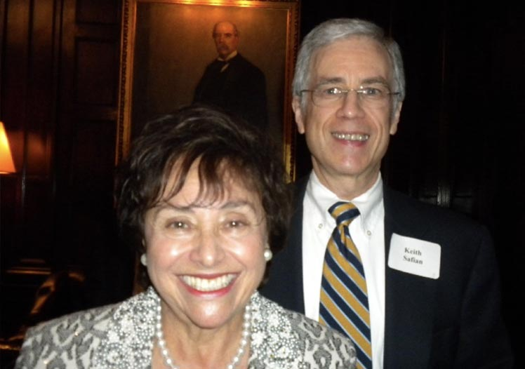 Keith with Congresswoman Nita Lowey