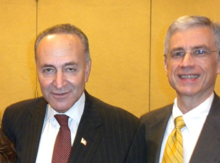 Keith with Senator Chuck Schumer