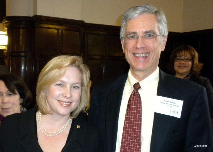 Keith with Senator Kirsten Gillibrand