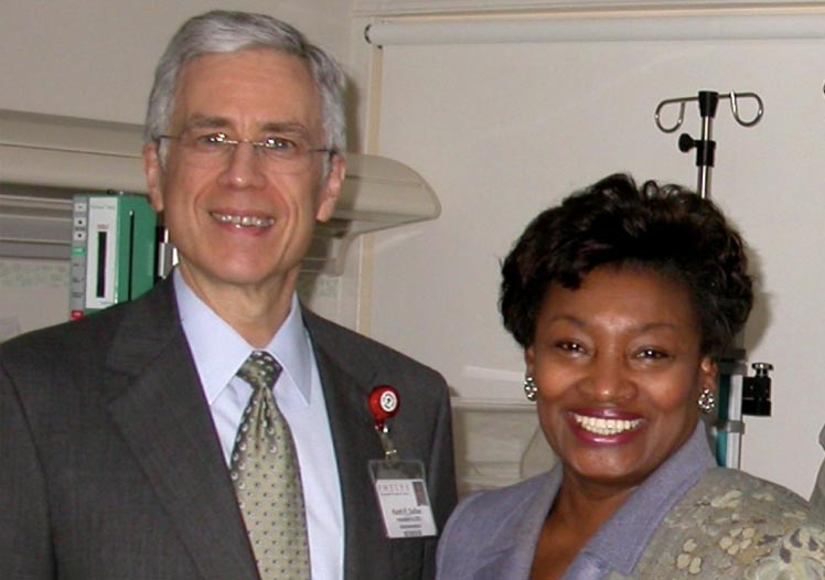 Keith with State Senator Andrea Stewart-Cousins