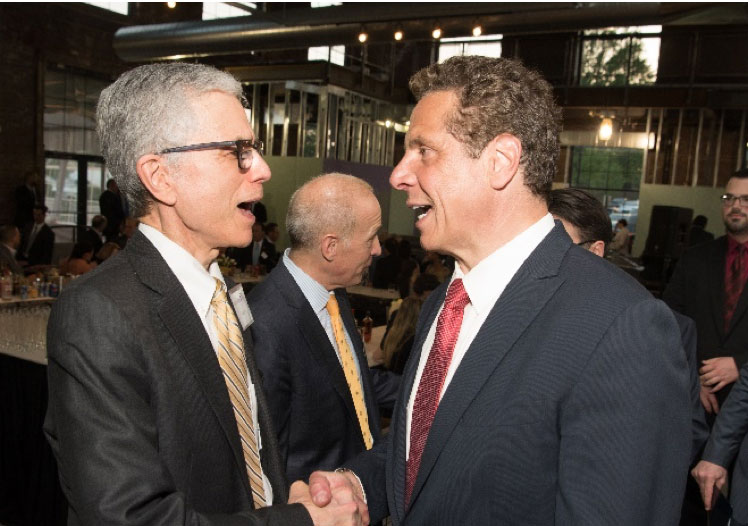 Keith with Governor Andrew Cuomo